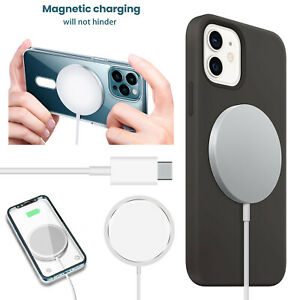 15W Magnetic Mag safe Fast Charging Charger Pad For iPhone12 Pro Max 12 Mini NEW