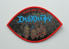 INSANITY [red] - Official Woven Patch / Morbid Saint Pentagram Chile Hellwitch