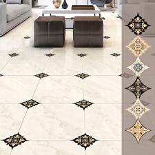 21pcs Self Adhesive Ceramic Tile Stickers Waterproof Art Diagonal Floor ~ DD