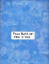 Island Batik Seashore 111624074 Light Blue Dots on Blue 1//2 yd