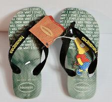 Havaianas Bart Simpson Boys Kids Sandals Flip Flops Size UK 10-11c Kids SIMPSONS