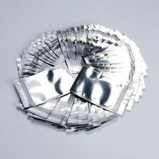 Aluminum Foil Pouch Packing Bag Ziplock Mylar Self Seal Sliver 3 Size Pack of 50