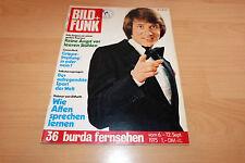 Bild und Funk Nr.36/1975  Tb Udo Jürgens