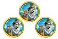 Krishna Jeunes Hindou Marqueurs de Balles de Golf