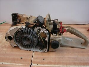 Stihl 034AV, Red Lever chainsaw for parts, vintage collector saw,  #1856