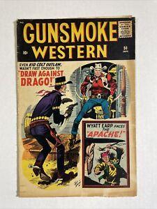 Gunsmoke Western 50 VG 1959 Atlas comic Jack Davis Kirby Crandall