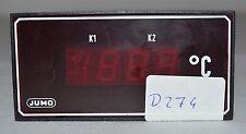 Jumo Temperaturregler / Temperatur Controller (Typ PDAw-48m / lk78) (D.274)