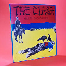 THE CLASH GIVE 'EM ENOUGH ROPE LP usato 33 giri CBS 32444