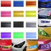 Blue Modish Auto Car Smoke Fog Light Headlight Taillight Tint Film Sheet Sticker