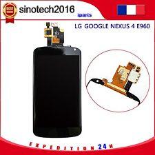 COMPLET ECRAN LCD + VITRE TACTILE pour LG GOOGLE NEXUS 4 E960 NOIR