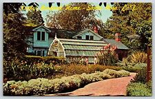 Luther Burbank Home in Santa Rosa, California Redwood Empire Postcard Unused