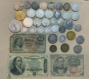 1874 1876 CC 1883 Cull Lot Seated Holed Hawaii Carson City Fractional Harrison