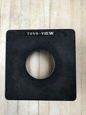 Toyo View 6.25 Sq Lensboard With Rear Mounted Xenophon 4x4 Gel Holder, fast ship