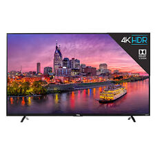 """TCL 55"""" 120Hz 4K Ultra HD Dolby Vision HDR Roku Smart TV with Advanced Remote"""