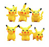 Pokemon Go Pikachu Figurines - 6pcs Cake Decorating Set