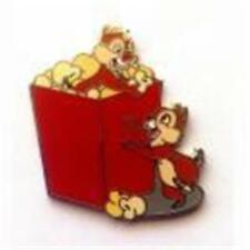 Chip & Dale Popcorn Characters with Food Disney Parks Adventure Pin 89943