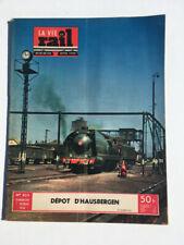 vie du rail 1954 433 HAUSBERGEN BISCHHEIM NIEDERHAUSBERGEN HOENHEIM SCHILTIGHEIM
