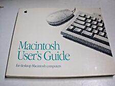 Apple Macintosh User's Guide Vintage Retro Rare Book