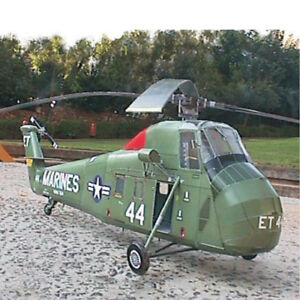 1:32 3D Paper Model US Marine UH-34D Seahorse Helicopter Plane Aircraft Puzzle