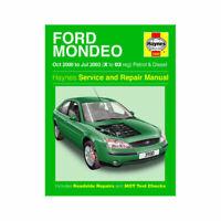 Haynes Manual 3990 Ford Mondeo 2000-03 1.8 2.0 Petrol 2.0 Diesel
