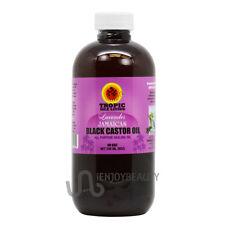 "Tropic Isle Living ""Lavender"" Jamaican Black Castor Oil 8oz w/Free Applicator"