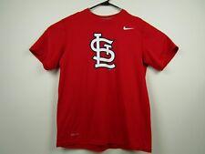 Mens Nike Medium Red St Louis Cardinals Dri-Fit T-Shirt EUC