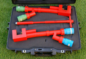 Powerline+ Double Insulated G-Clamp Kit, CCF Style, (Neutral, Earth,T-bar key)
