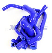 für BMW E34 5er Wasserschlauch Set Silikonschlauch Kühlwasserkreislauf BLAU NEU
