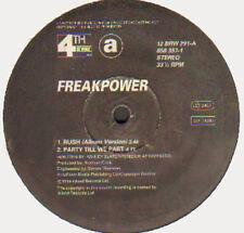 FREAK POWER - Rush - 4th & Broadway