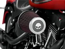 Coperchio Terminale Willie G Skull Filtro Heavy Breather Screamin Eagle Harley