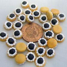 1; 12 SCALA 7 DARK MARMELLATA TORTE Casa delle Bambole Miniature PANETTERIA CIAMBELLE Cibo pl116