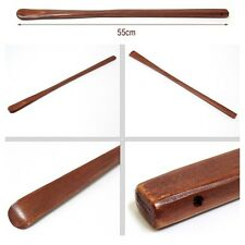 """21"""" Lacquered Bamboo Wood Wooden Men Women Shoehorn Casual Running Shoes Lift"""