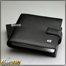 new VOLVO PU Leather CD Case Car DVD Holder Men Disc Album Disk Storage Wallet