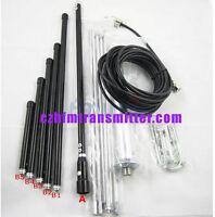 1/4 wave Professional GP Antenna for 5w,7w,15w,30w,50w,100w FM Transmitter