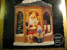 1995 Hallmark COMING TO SEE SANTA Light Motion Voice