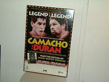 CAMACHO VS DURAN ORIGINAL 1996 BOXING POSTER (27 x 40)