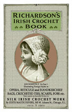 Richardson's Irish Crochet c.1912 Vintage Patterns of Irish Lace Purses & Hats