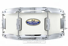 "Pearl Decade Maple 14""x5.5"" Snare Drum - White Satin Pearl - Video Demo"