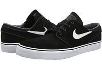 Nike SB Zoom STEFAN JANOSKI Men's Low Skate Shoe Black White Thunder Grey Size 8