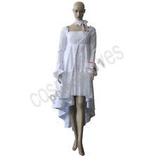 Vampire Knight Yuuki Cross White Gown Cosplay Costume Custom Made