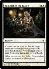 REMEMBER THE FALLEN New Phyrexia MTG White Sorcery Com