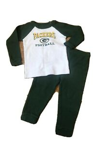 Baby Green Bay Packers Thermal Outfit 24 Months, NFL Apparel, Football