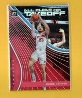 D17305  2017-18 Donruss Optic All Clear for Takeoff Red #12 Blake Griffin #54/99