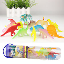 12Glowing in the dark small dinosaurs toys for children animal lovers collectors