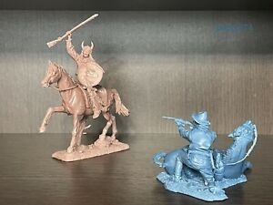 Plastic Platoon and Publius Indian vs. Lone Cavalry 1:32 Rubber New Toy soldiers