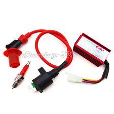 CDI Ignition Coil Spark Plug Fit Honda Dio Elite SB50 SA50 Spree SYM DD50 Arnad