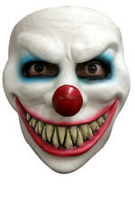 LAUGHING EVIL CLOWN LATEX FACE MASK SCARY HALLOWEEN HORROR