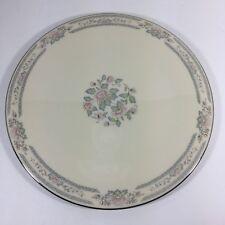 "Lenox Cake Plate Platter Charleston Floral 11 3/4"""