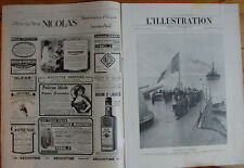L'ILLUSTRATION 4148 DU 2/9/1922 IRLANDE MICHAEL COLLINS FETE CHAMBERY GUADELOUPE