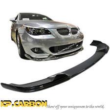 HM Look M Sport Bumper Front Spoiler Lip Carbon Fiber Fit 04-10 BMW E60 E61 525i